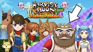 Menikahi Gorgan dan Harvest Goddess HM: LoH
