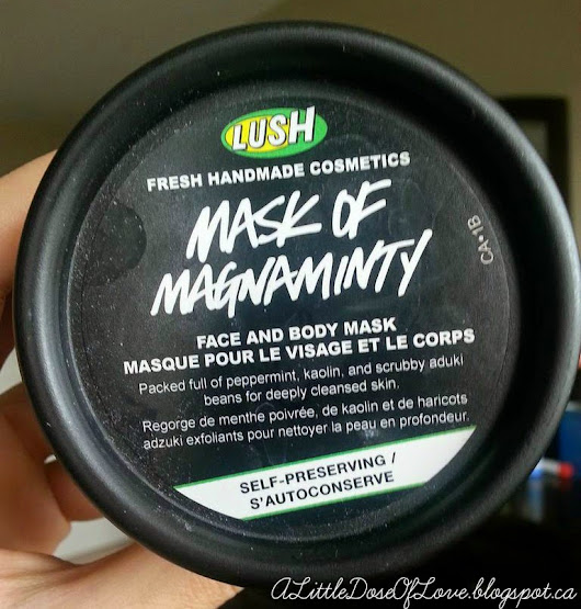 Mask of Magnaminty / LUSH / Cruelty Free