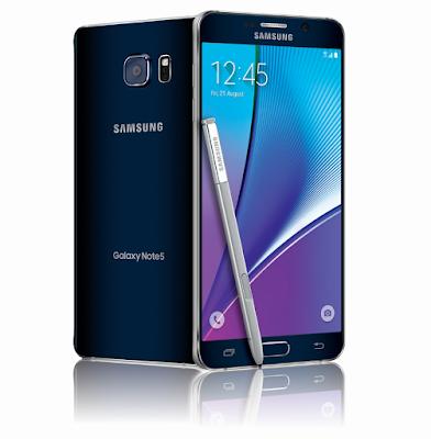 مميزات وعيوب هاتف Samsung Galaxy Note 5