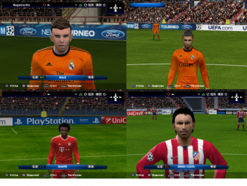 Screenshots PES 2015 PS2