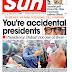 NAIJA NEWSPAPERS: TODAY'S THE DAILY SUN NEWSPAPER HEADLINES [16 OCTOBER, 2017]