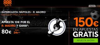 888sport supercuota 8 Real Madrid vs Napoles champions 7 marzo