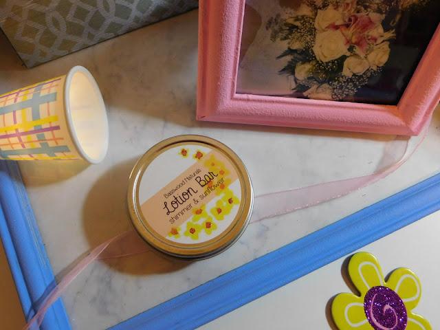 basswood naturals shimmer lotion bar