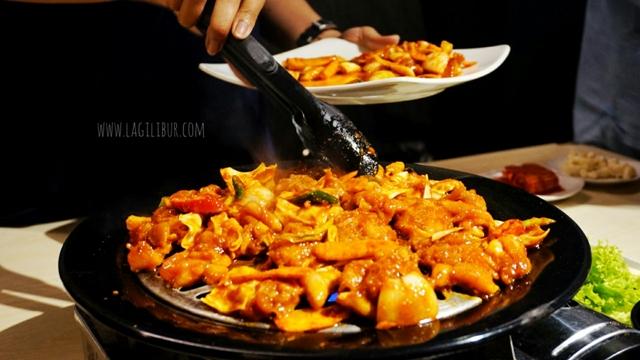 Dak Galbi Kimchi Korean Restaurant Solo