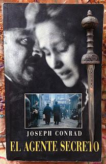 Portada del libro El agente secreto, de Joseph Conrad