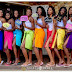 Beautiful Bride And Her Squad Rocks Towel For Her Bridal Shower Party (Photos)