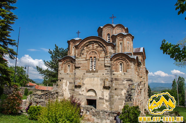 St. George church - Staro Nagorichane - frontal view