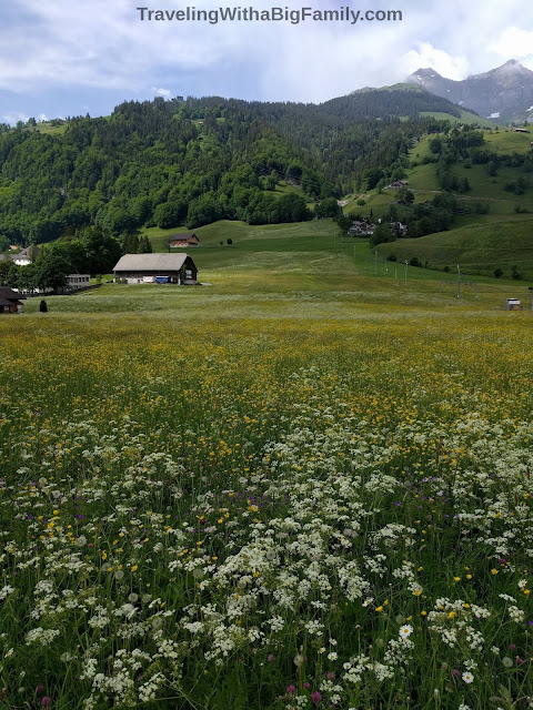 Exploring Switzerland by foot with small children