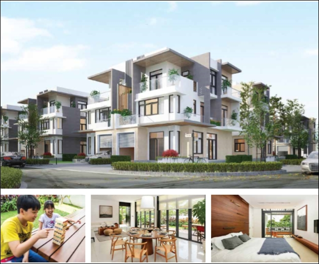 Cho thuê biệt thự song lập Lucasta Khang Điền Quận 9