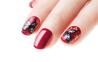 Butterfly Nail Art Design Ideas for Short Nails | Nail Art Designs
