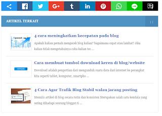 Untuk menaikkan Page Views anda sanggup menggunakan cara artikel terkait Cara menciptakan Artikel Terkait otomatis Di Blog 100% Responsive