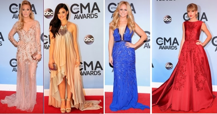 b751748670b4 country routes news: CMA Awards 2013: Red Carpet Fashion