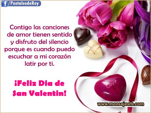 Frases De Amor Para San Valentin Con Imagenes Bonitas De: Mensajes Bonitos: Imagenes Con Frases Para San Valentin