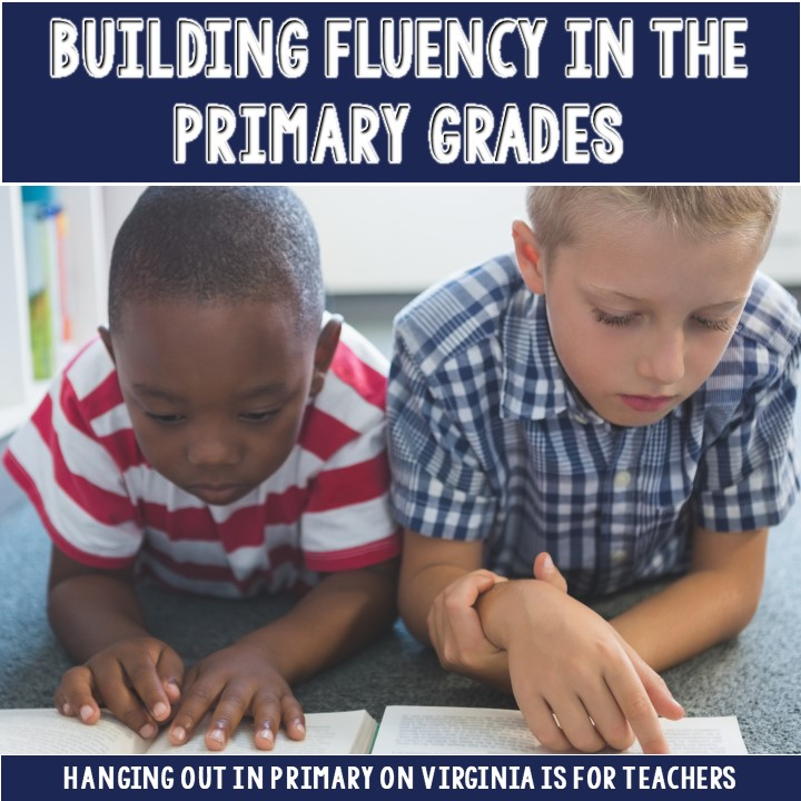 Fluency is such a difficult task for first grade.This post includes suggestions for supporting your kids.