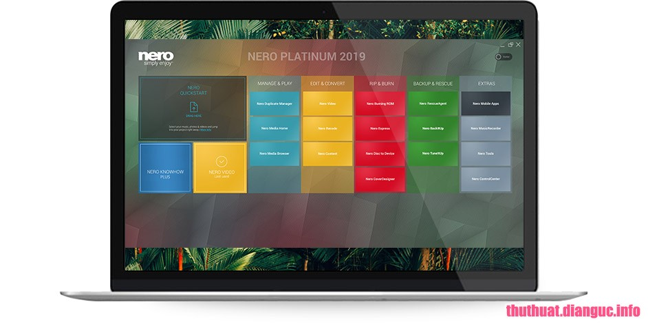 Download Nero Platinum 2019 Suite v20.0.07200 Full Cr@ck