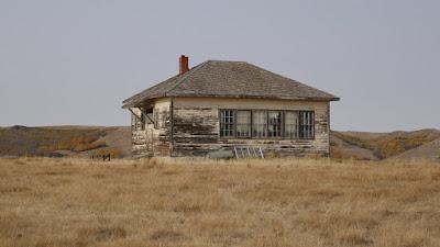 school, Saskatchewan, Dollard, Shaunavon, historical, abandoned