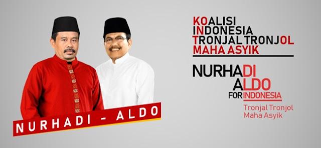 Pasangan Nurhadi Aldo