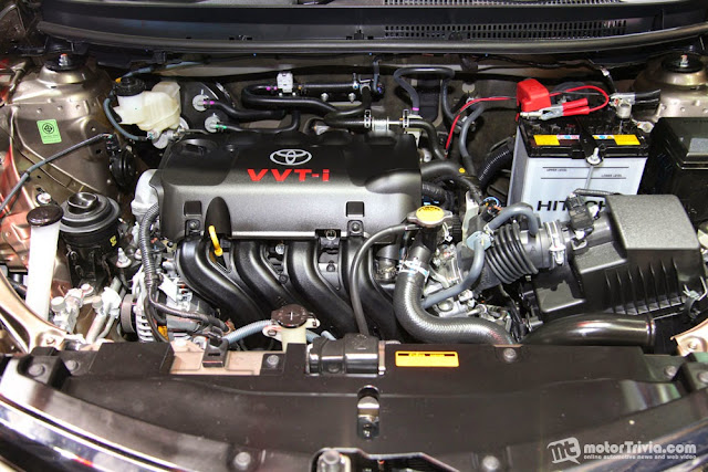 Động cơ VVT-i nổi tiếng của Toyota giúp xe tiết kiệm nhiên liệu tối đa