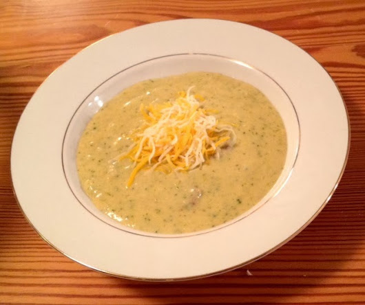 Tasty Tuesday Recipe: Cream of Broccoli Soup (SUPER EASY and transfers to Crock Pot--)