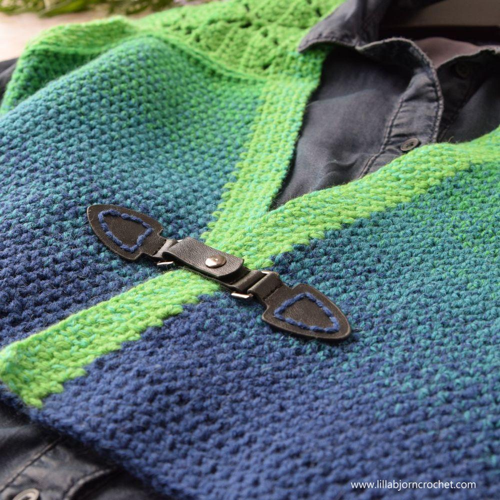 Spring Leaves Shrug_free crochet pattern by www.lillabjorncrochet.com