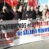 Trabajadores de Textil exigen un salario mínimo de 1.000 €