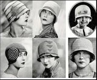 Distintos modelos de sombrero cloche