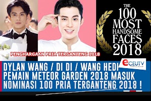 DYLAN WANG / DIDI Masuk Nominasi 100 Wajah Pria Terganteng di Dunia Versi TC Candler