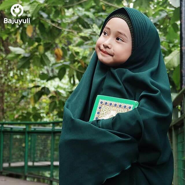 Ilustrasi anak cinta Al-Quran