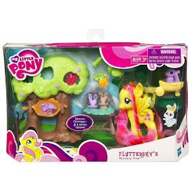 My Little Pony Animal Nursery Tree Fluttershy Brushable Pony