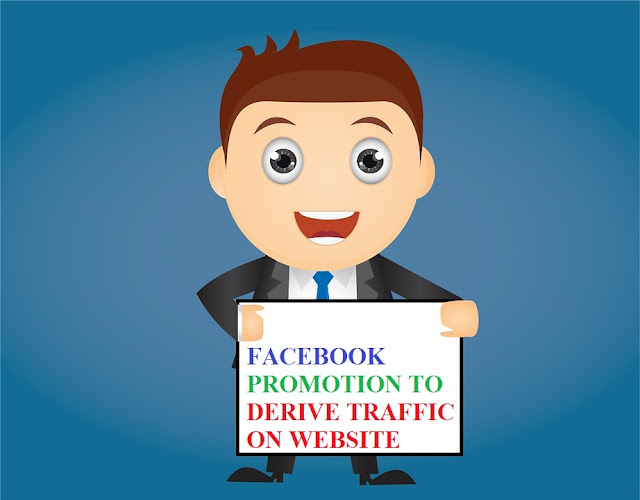 increase traffic on website from facebook for Free