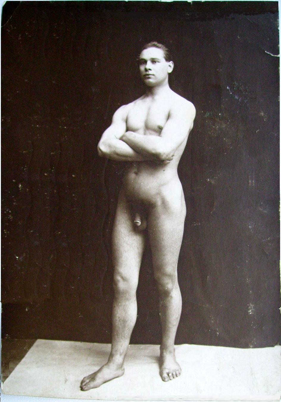 nude vintage men
