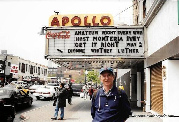 Apollo Theatre in Harlem on Harlem Gospel Tour in NYC