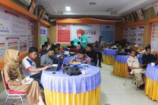 KPU Selayar Laksanakan Raker, Persiapan Coklit Data Pemilih