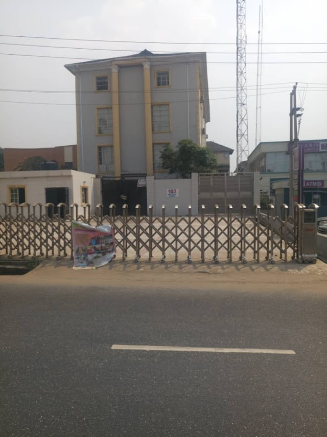 A Juicy Plaza for sale along Ejigbo Road, Lagos - By Ken