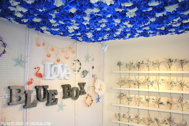 IMG 0290 - 一中商圈│藍箱處Blue Box-分子冰淇淋雞蛋仔*少女心的清爽夢幻逸品。隱身在巷弄間的IG打卡新景點