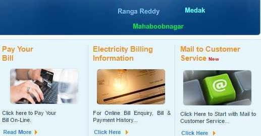 Tsspdcl Online Bill Payment Methods Tsspdcl Electricity