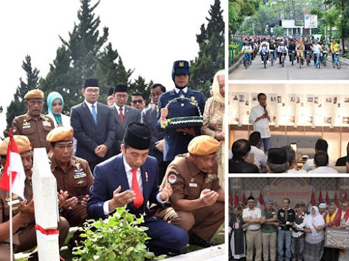 Kunjungan Jokowi di Bandung