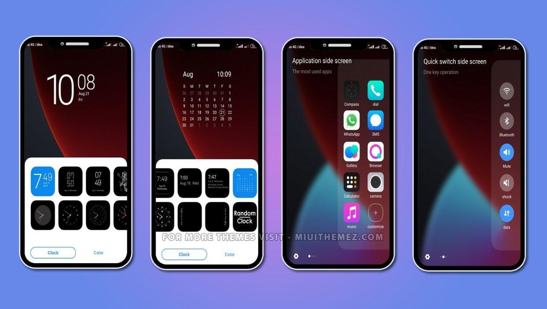 iOS Color MIUI Theme