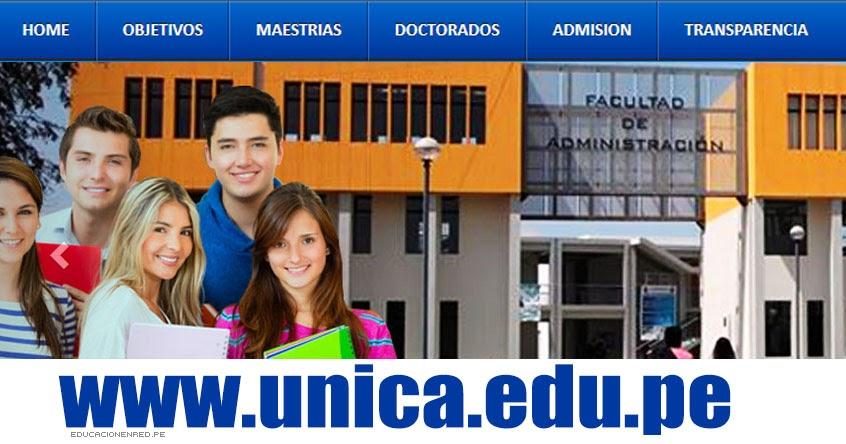 Resultados UNICA 2018-2 (29 Diciembre) Lista de Ingresantes - Examen Admisión Ordinario - Universidad Nacional San Luis Gonzaga de Ica - www.unica.edu.pe