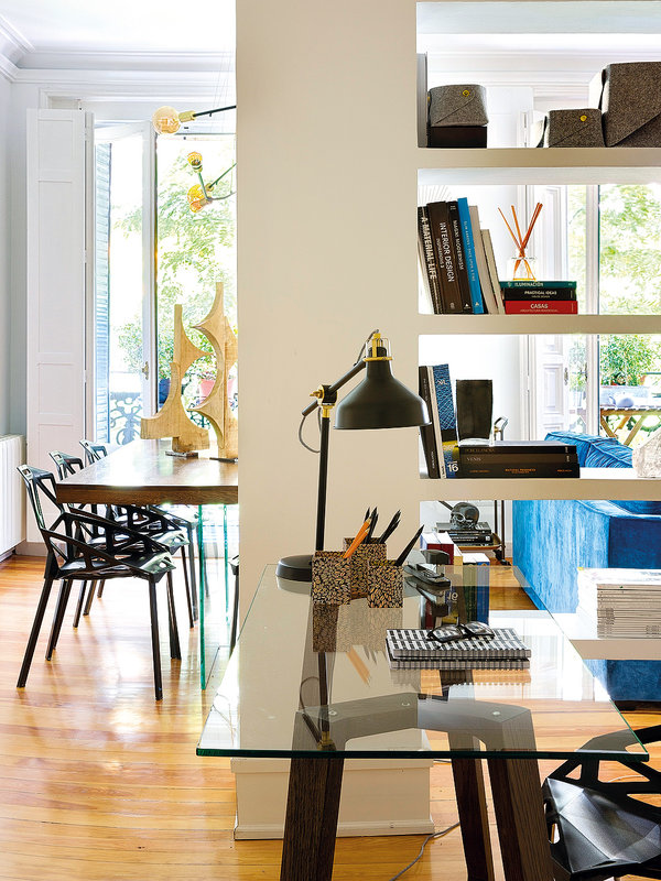 Дизайн-проекты. Реконструкция старой квартиры в историческом здании Мадрида