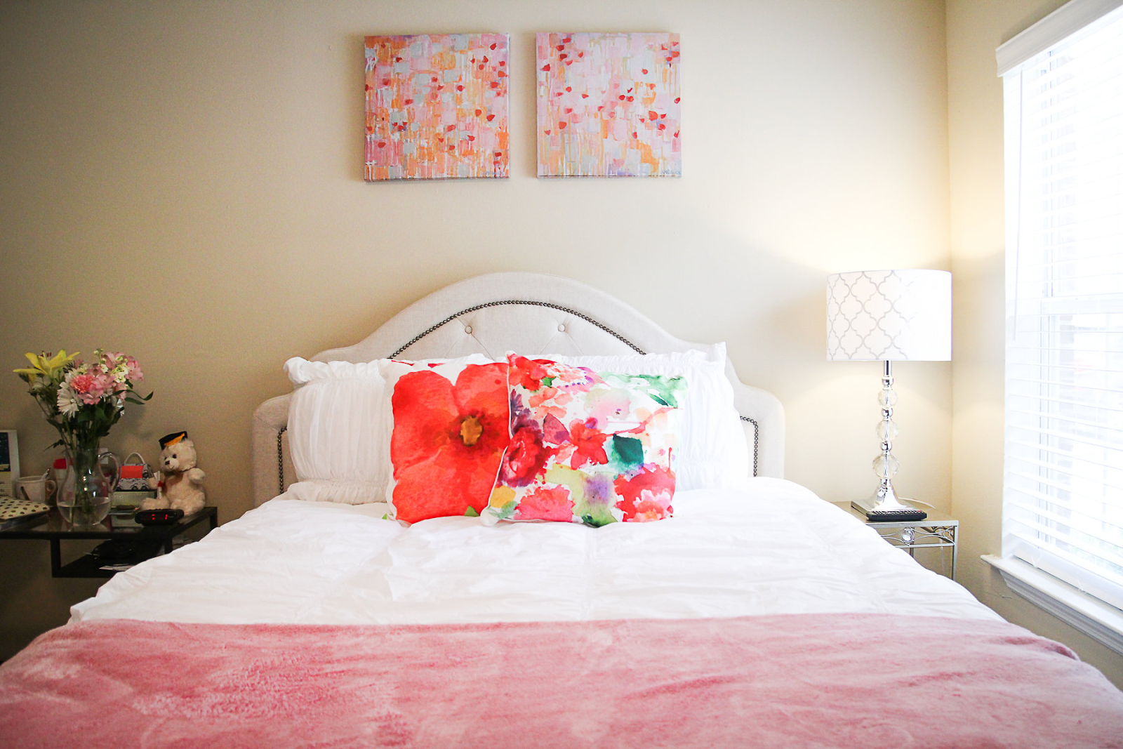My First Apartment: Bedroom Reveal!! | Southern Belle in ...