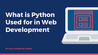 what is python used for in web development