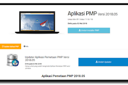 Download Rilis Pembaruan Aplikasi Pemetaan PMP 2018.05