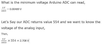 ADC minimum Value Calculation