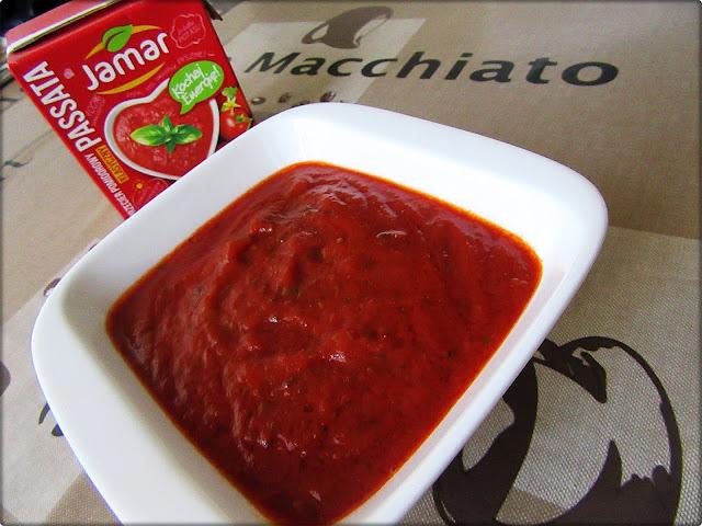 Sos Pomidorowy na pizzę