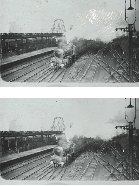 Crewe Station Before and After