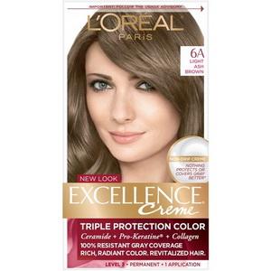 Thuốc nhuộm tóc L'oreal Excellence Creme 6A hàng Mỹ xách tay