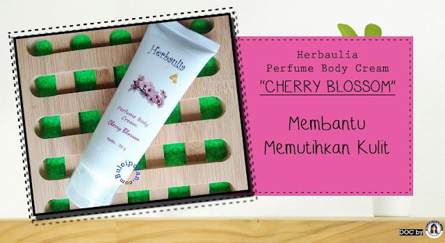 HERBAULIA PERFUME BODY CREAM varian Cherry Blossom
