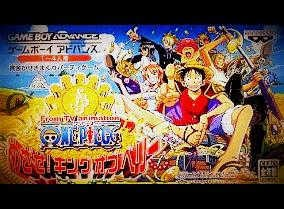 Gameboy advance onepiece game