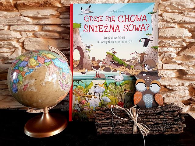 Gdzie się chowa śnieżna sowa  - książeczki dla dzieci - Nasza Księgarnia - jak rozwijać w dziecku ciekawość świata ?